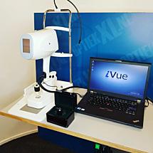 3D OCT optovue ivue
