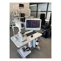 Hygiënescherm / preventiescherm voor instrumenten (laag model)
