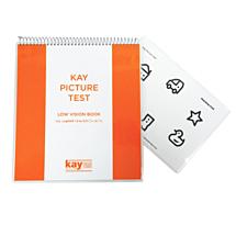 Kay picture low vision test boek kindersymbolen