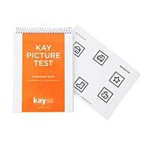 Kay picture test screening boek kindersymbolen