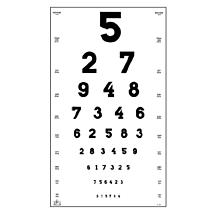 Oculus Visuskaart Cijfers 5 en 6 meter Type 2