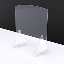 Spatscherm tafel - baliemodel 75x100