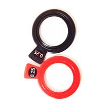Refractieglas cilindrisch